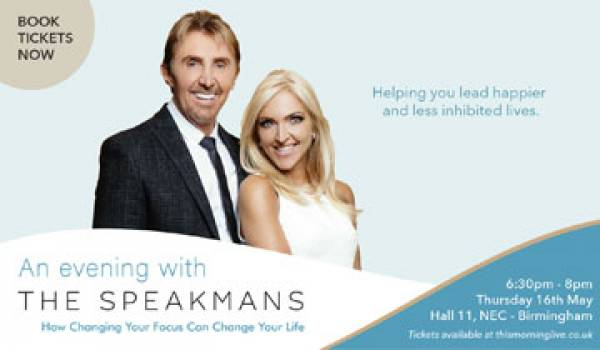Join us for An Evening with The Speakmans!