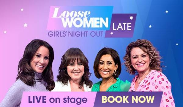 We are excited to announce the launch of Loose Women Late: Girls Night Out